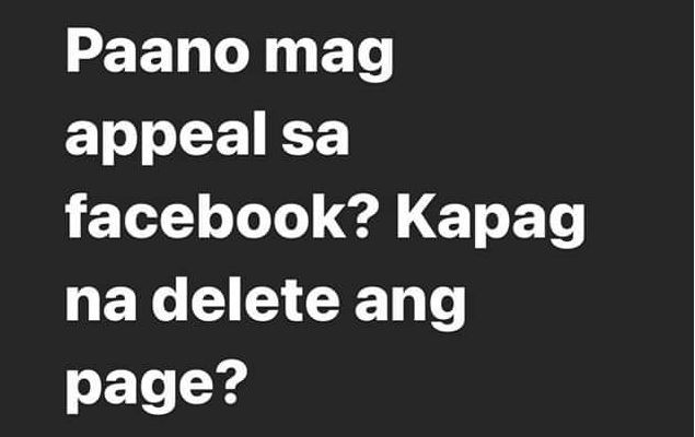 Rendon Labador, asking for help to retrieve his Facebook Page - GazeFeed