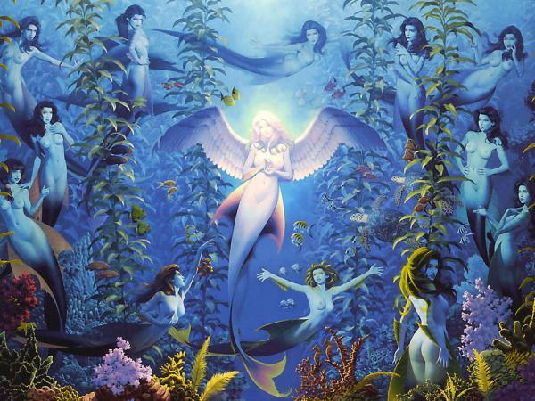 Cool Mermaid, Mermaids