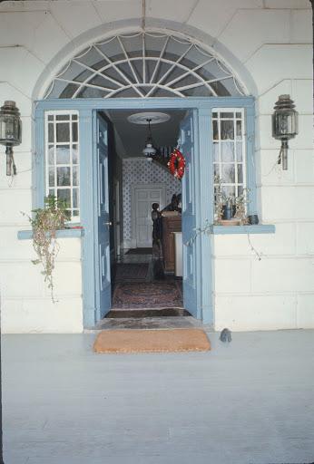 'Streanshalh' - exterior view - front entrance