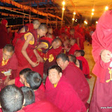 Massive religious gathering and enthronement of Dalai Lama's portrait in Lithang, Tibet. - l81.JPG