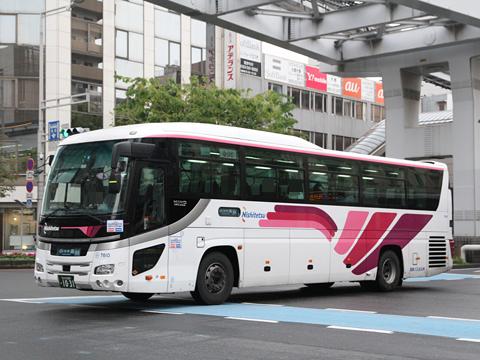 西鉄バス北九州「北九州~大分線」 7610