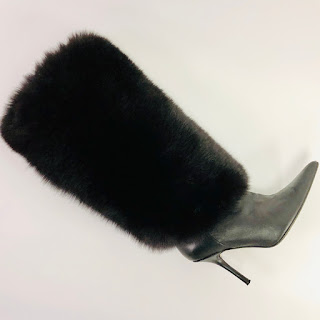 *Clearance* Eugina Kim Fox Fur Boots