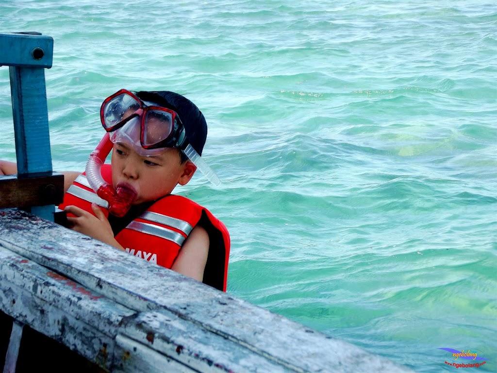 family trip pulau pari 140716 Fuji 067