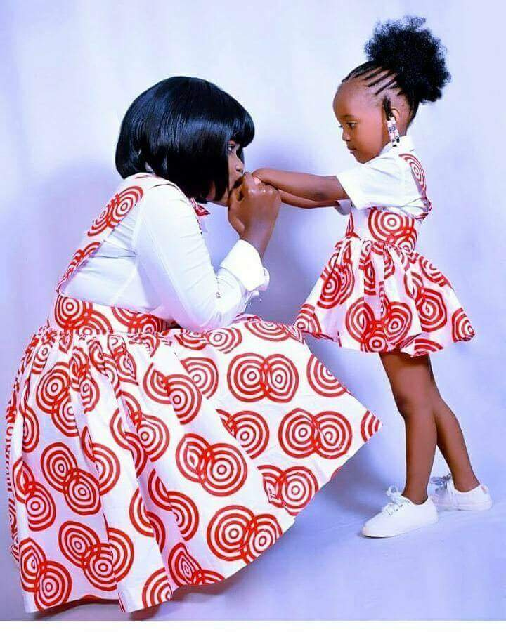 Fabulous Hot Styles For Mother And Child (Daughter) 6