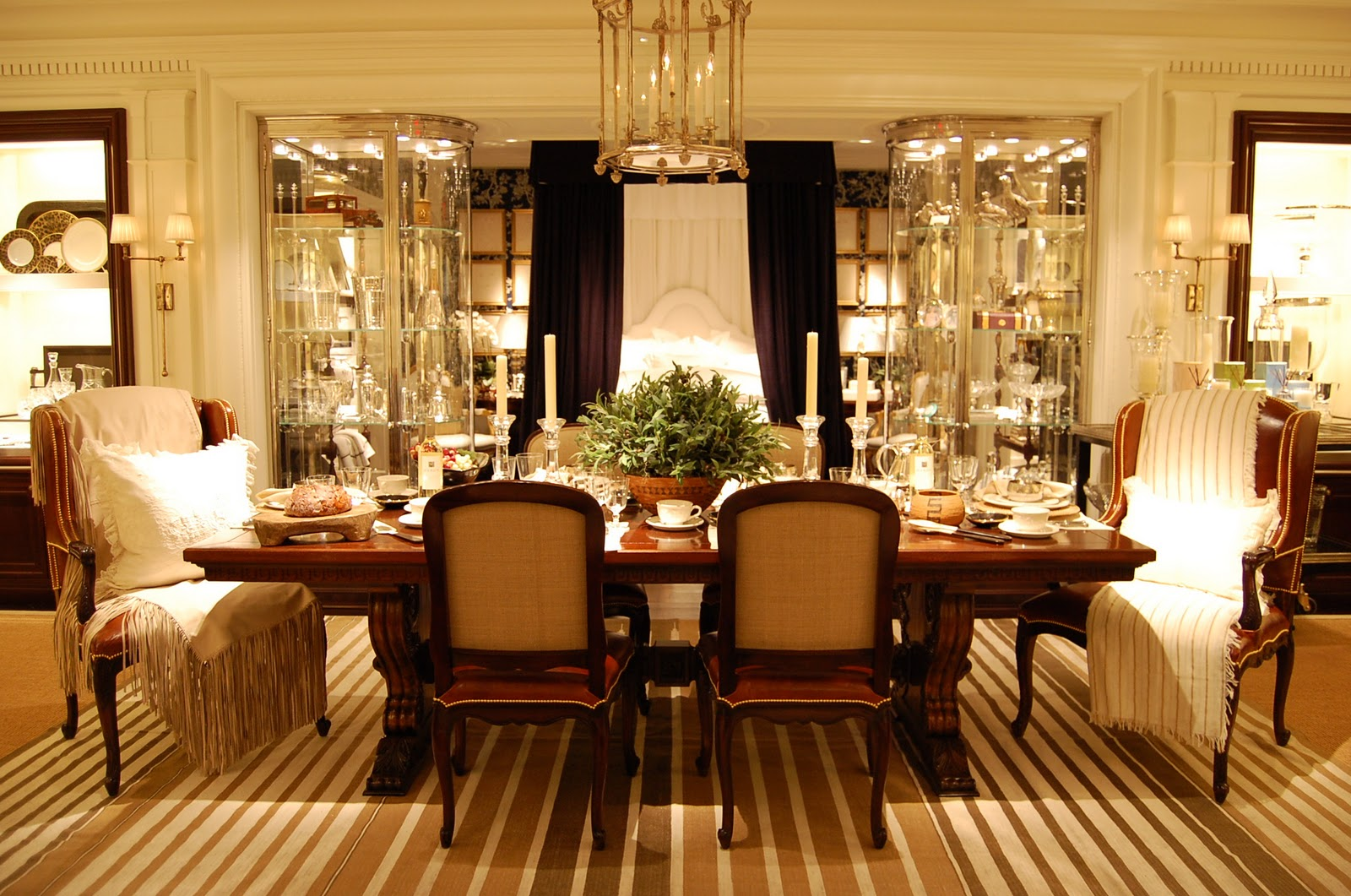 chic soiree and spring at ralph lauren ellegant home design