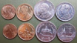 foto mata uang thailand baht koin atau logam