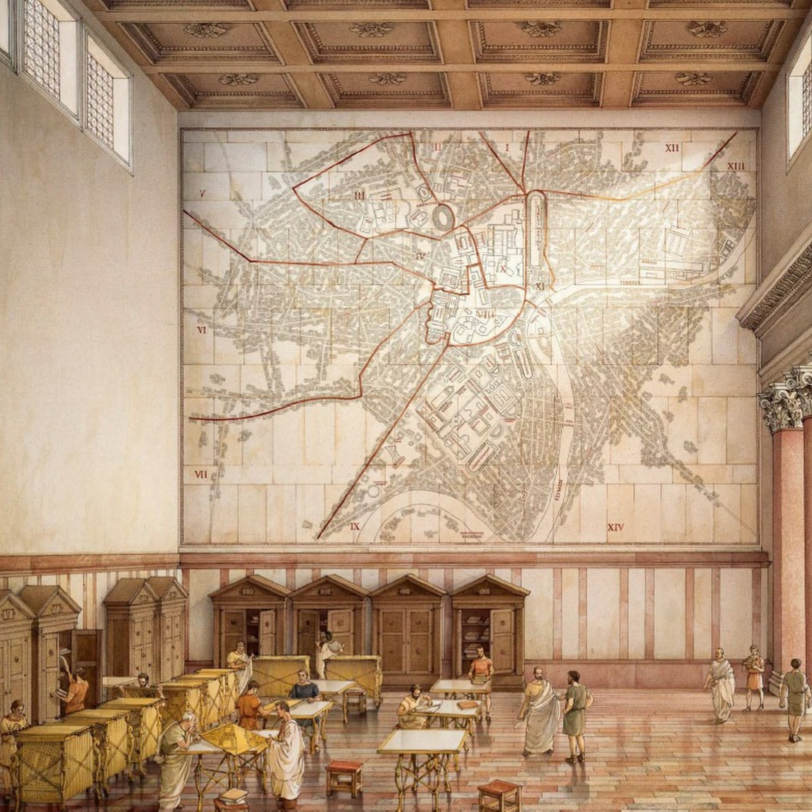 Forma Urbis: Rome's Giant Marble Map