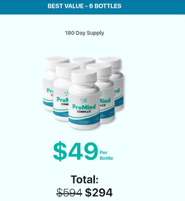 Promind Complex - Honest Review, use, ingredients, price etc. Scam× or not?