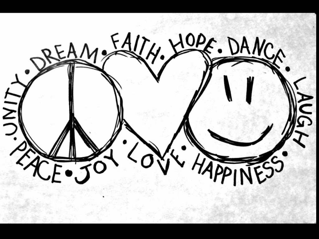 Best 15 peace and love coloring pages pictures for Peace love happiness coloring pages