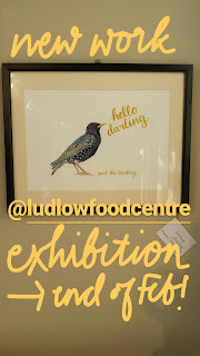 Darling Starling by www.AliceDrawsTheLine.co.uk