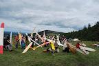 Traditionnelle photo de groupe, pas facile de réunir tout le monde