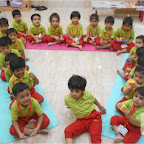 Triangle Day Celebrated by Nursery Afternoon Section, Witty World, Chikoowadi (2017-18)