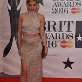OIC - ENTSIMAGES.COM - Ashley Roberts at the  The BRIT Awards 2016 (BRITs) in London 24th February 2016.  Raymond Weil's  Official Watch and  Timing Partner for the BRIT Awards. Photo Mobis Photos/OIC 0203 174 1069
