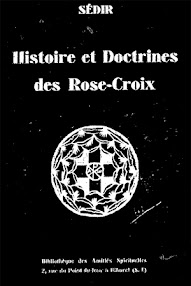 Cover of Paul Sedir's Book Histoire et Doctrine des Rose Croix (1932,in French)
