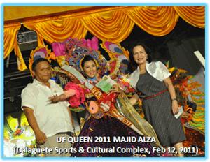 Utanon Festival Queen Majid ALza