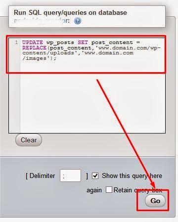 Cara Mengubah Beberapa URL Link Sekaligus Pada Postingan WordPress