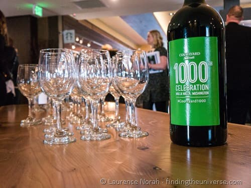 1000th marriott celebration wine