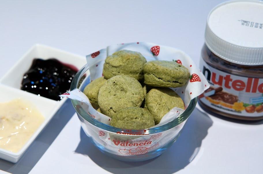 673 Green Tea Scones