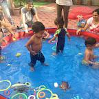 Splishy Splashy Day in Mother Toddler Program at Witty World