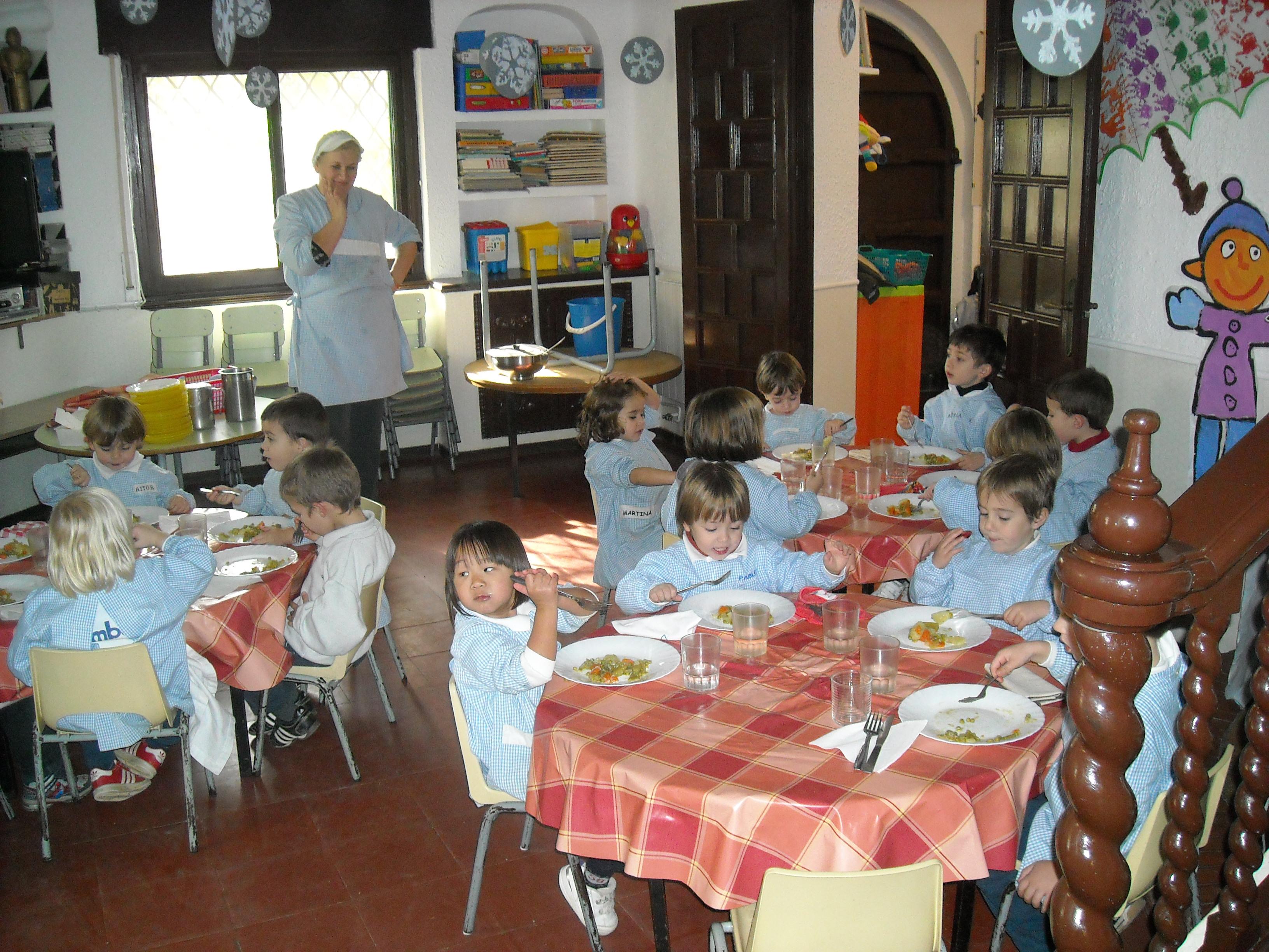 La cocina gimbebe for Proyecto de comedor infantil