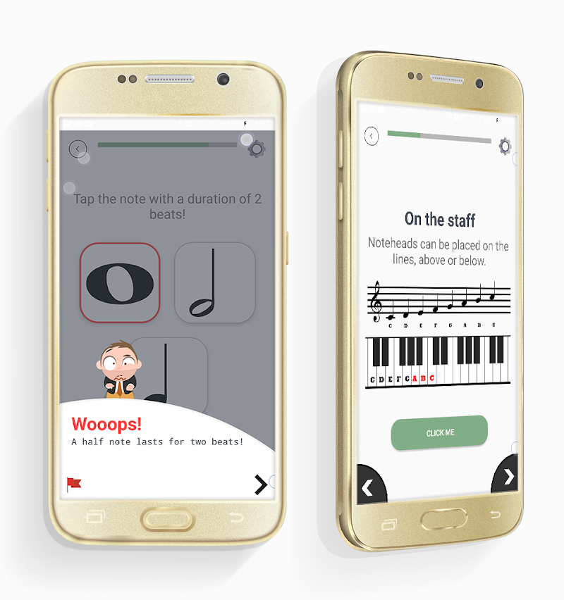 ChordProg Ear Trainer Screenshot 2