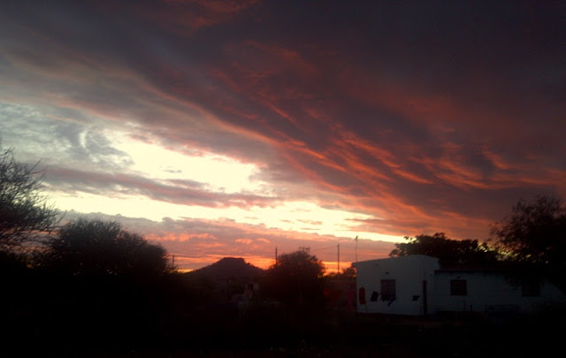 Botswana has the prettiest sunsets in the world