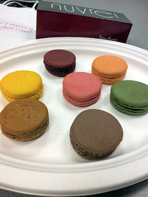 Macarons from Nuvrei, Nuvrei Patisserie and Café