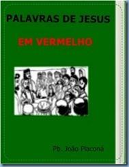 Palavras de Jesus  em Vermelho
