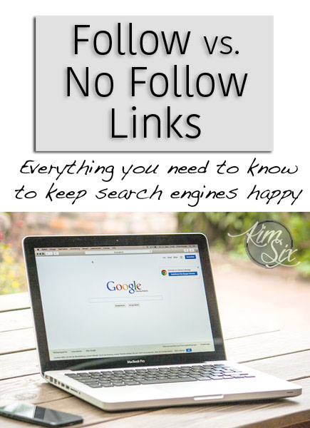 Follow vs no follow links