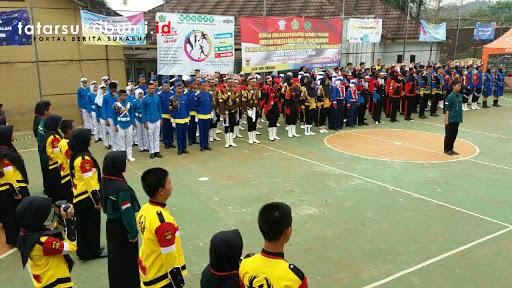 Satlantas Polres Sukabumi Gelar LKBB Bersama MAN Cibadak