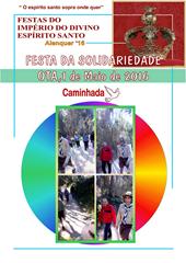 FESTA DA SOLIDARIEDADE - CAMINHADA