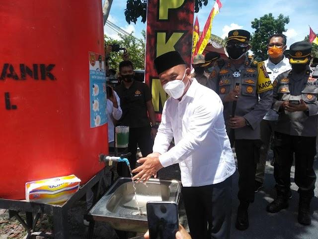 Gubernur Sugianto: Tingkatkan Ketaatan Prokes