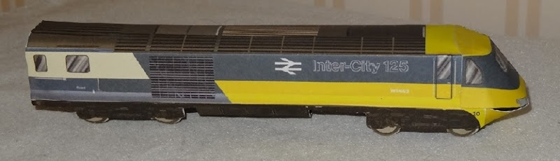 1976 Intercity 125 - British Rail