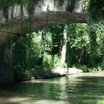 Parc National Forestier de Sevran : pont sur le canal de l'Ourcq