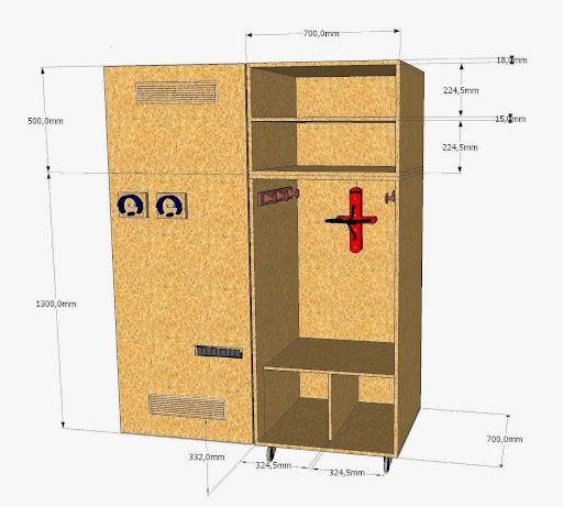 Fabrication armoire vos avis - Aidez moi j ai accidentellement construit une armoire ...