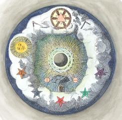 Masonic Alchemical Image From Die Theoretischen Bruder Oder Stufe Der Rosenkreutzer, Alchemical And Hermetic Emblems 1