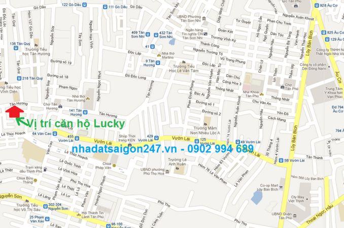 Căn hộ Lucky - Lucky Apartment - căn hộ quận tân phú
