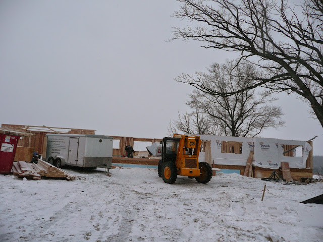 Building of new home in Waukesha, WI - P1030348.JPG