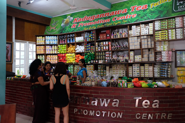 Kadugannawa Tea Factory & Sales Center