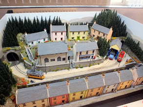 Photo: 133 An aerial view of the attractive village of Glensheen and the 009 Lochsanda Tramway .