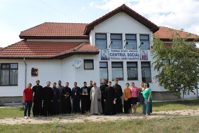29 iulie - Schimb de Experiență cu preoți din Rep. Moldova