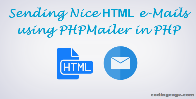 How to Send HTML eMails in PHP with PHPMailer