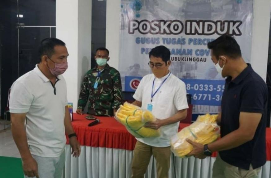 Walikota Lubuklinggau Serahkan Bantuan APD