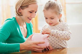 Cómo estimular a tus hijos a ahorrar