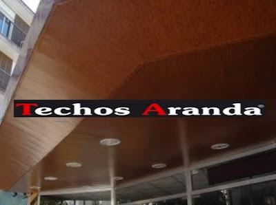Imagen de techos de aluminio para baños Madrid