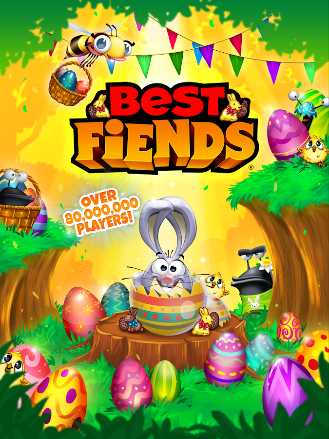 Screenshots of Best Fiends - Puzzle Adventure for iPhone
