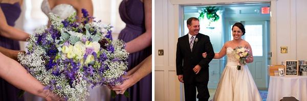Sweet Purple Rustic Wedding In Suffolk Tidewater And