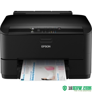 How to Reset Epson WorkForce WP-4025DW printing device – Reset flashing lights problem