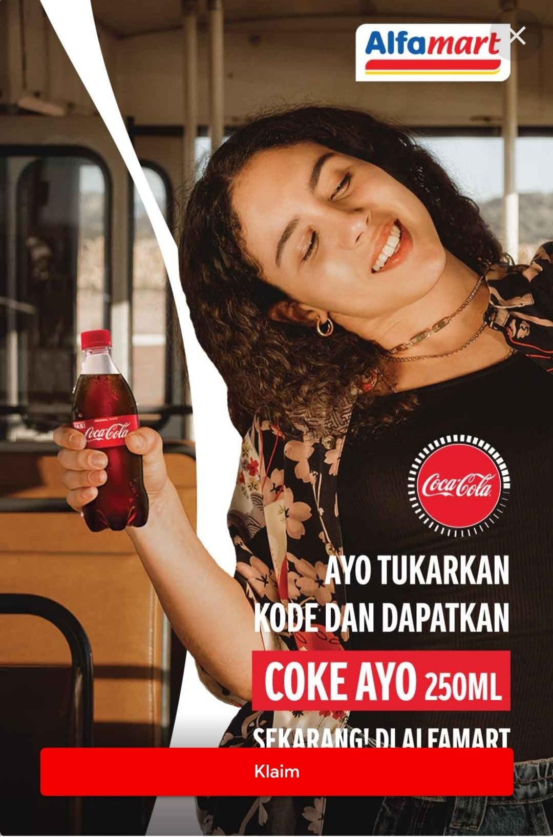 Coca Cola Gratis Indomaret