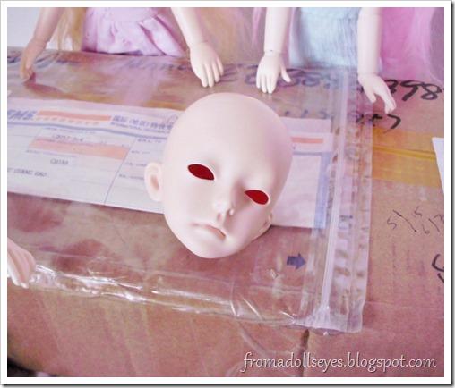 Unboxing the Doll Family H 45 cm. boy bjd body, plus cute doll shoes.